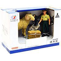 Игровой набор Zhongjieming Toys «Ферма» животные, фигурки (Q9899-T8)