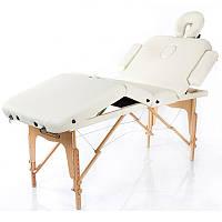 Масажний стіл дерев'яний 4-х сегментний RESTPRO VIP 4 кушетка масажна для масажу