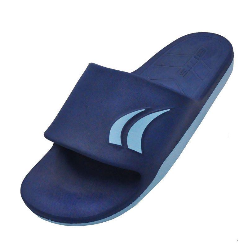 Чоловічі капці Bitis сині з блакитним підошвою