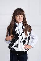 Детский меховой жилет