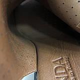 Босоножки сандалии женские кожаные синие BRENDA, фото 2
