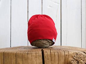 "Трикотажная шапка ""Klin"", Красная"