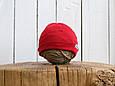 "Трикотажная шапка ""Klin"", Красная, фото 2"