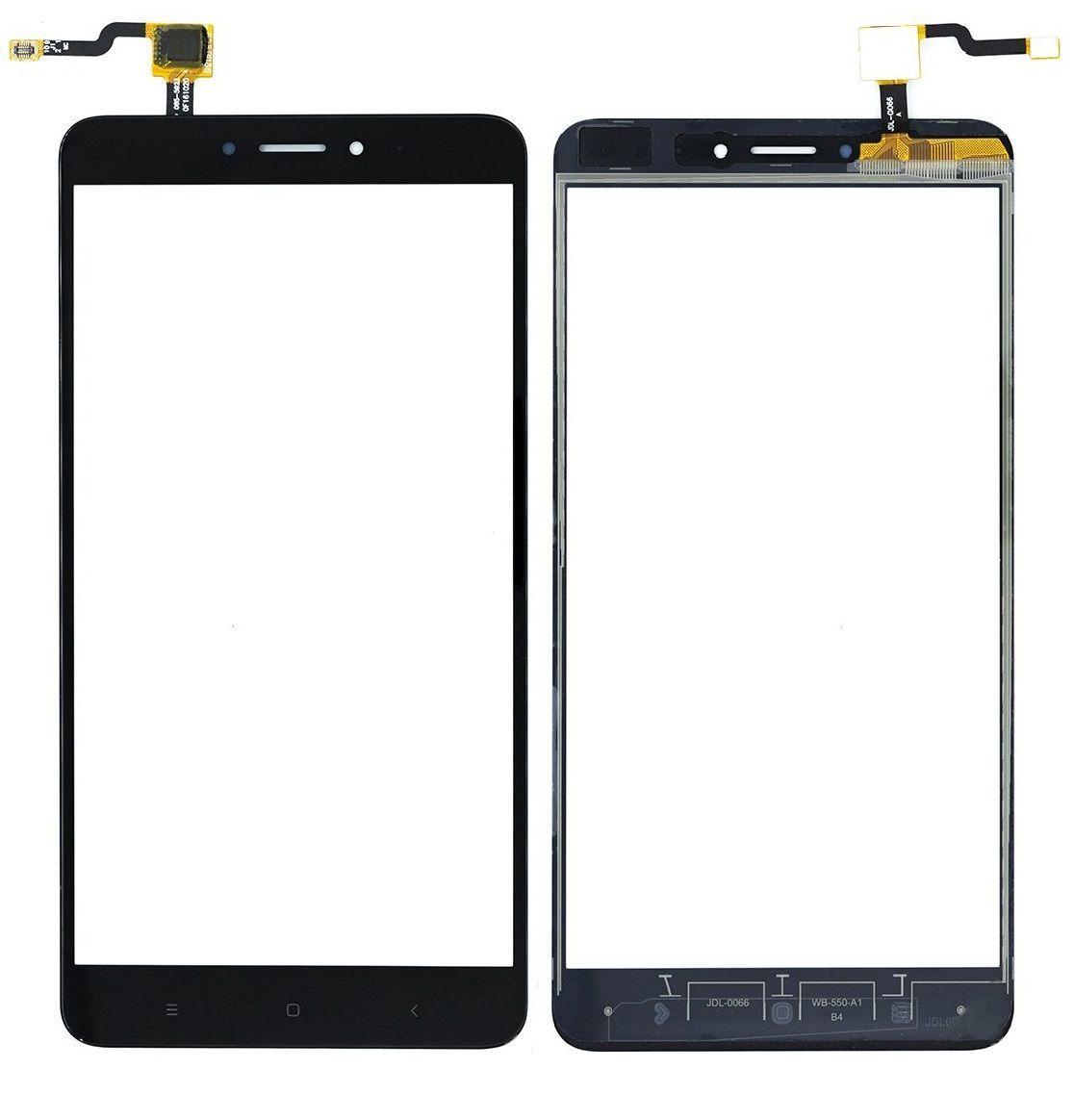 Сенсор (тачскрин) Xiaomi Mi Max 2 Black