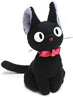 Ведьмина служба доставки плюшевый кот Джиджи GUND Kikis Delivery Service Jiji Cat, фото 1