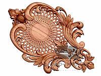 Резной декор из дерева за Вашими розмірами накладка 015