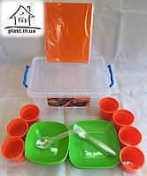 Набор для пикника на 7 персон (37 предметов)