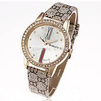 Часы женские Womage Gucci beige
