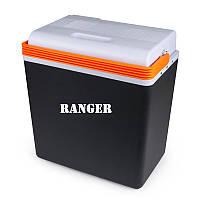 Автохолодильник Ranger Cool 20L RA 8847 Черно-белый с оранжевым (8431)
