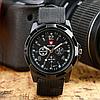 Часы Swiss Army Наручные мужские Черные