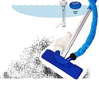 Набор аксессуаров для ухода за бассейном Bestway 58195, пылесос для очистки дна от садового шланга