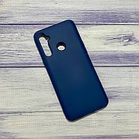 Чехол Silicone Case Realme 5 Синий