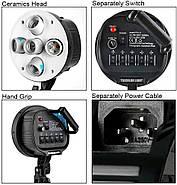 270/2700Вт Комплект світлодіодного постійного світла FST/VISICO Z3SB57X5LED, фото 3