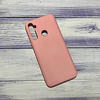 Чохол Silicone Case Realme 5 Рожевий