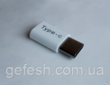 Micro USB на TYPE-C адаптер переходник