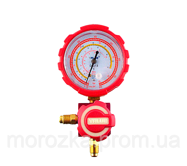 Манометр. коллектор одновентильный VALUE VMG -1-U-H Type2 (R 404,407,22,134)