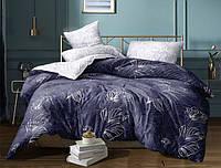Двуспальный набор постельного белья Черешенка Gold №152816AB 180х220 Бязь Фиолетовый (BC2G152816AB)