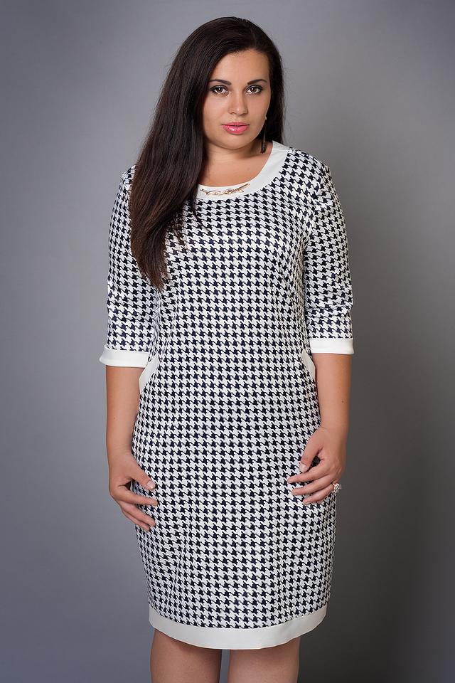 Нарядное женское платье больших размеров - Оптово-розничный интернет-магазин  Fashion Way
