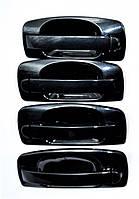 Евро ручки Ваз 2110, 2111, 2112, 2170, 2172 наружные, черный металлик