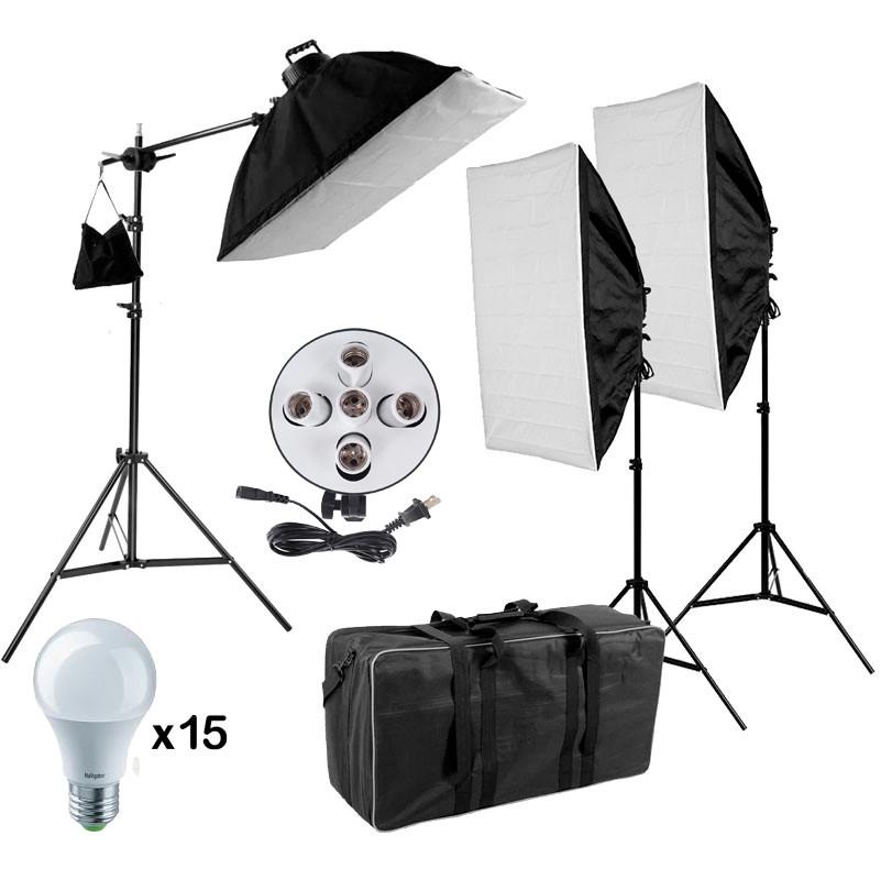 270/2700Вт Комплект світлодіодного постійного світла FST/VISICO Z3SB57X5LED