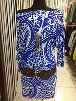 Платье туникам,ассиметрия