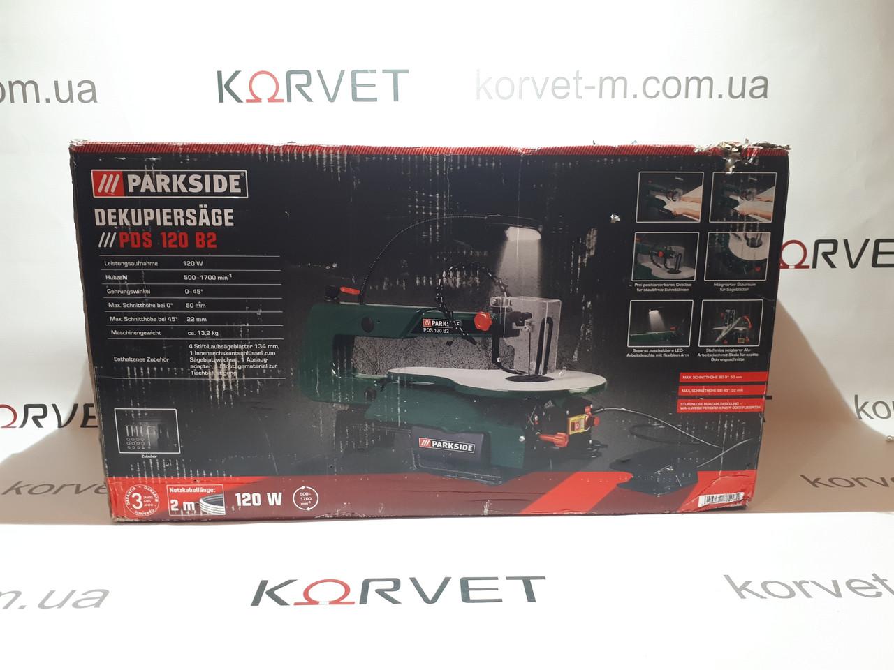 Электролобзик станочный Parkside PDS 120 B2