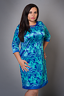Нарядное женское платье больших размеров
