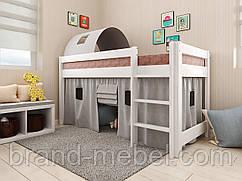 Дитяче дерев'яне ліжко Адель / Детская деревянная кровать Адель
