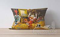 """Детская подушка с фото """"Дональд Дак 1"""""""