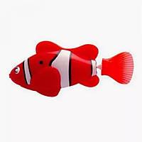 Электронная рыбка-робот для аквариума на батарейках  Robofish (роборыбка) красная рибка