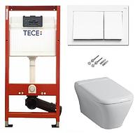 Инсталляция TECE с подвесным унитазом KERAMAG MyDay + крышка Softclose, фото 1