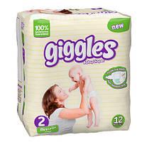 Giggles Детские подгузники STANDARD PACKS MINI 2 (3-6кг) 12шт
