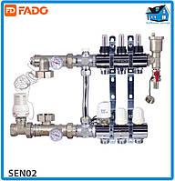 Комплект для підключення системи тепла підлога FADO SEN02 FLOOR 2 виходи