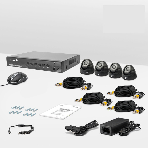 Комплект видеонаблюдения Страж AHD Бюджет