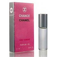 Масленый мини парфюм Chanel Chance Eau Tendre (Шанель Шанс Еу Тендр) 7 мл