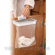 Навесной держатель мусорных пакетов Attach A Trash 24х11х3см, фото 2