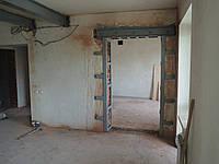 Резка проема в кирпичной стене, фото 1
