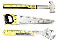 """Линейка деревянная, 12 см """"Инструменты"""""""