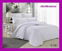 Двуспальный комплект постельного белья из хлопка на молнии Двоспальний комплект постільної білизни  S381