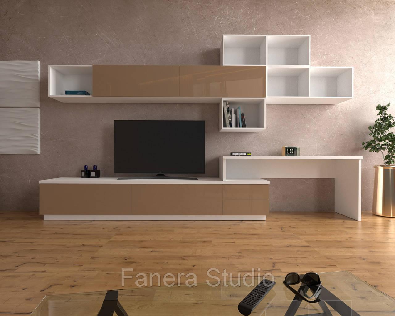Комплект мебели в гостиную из ЛДСП