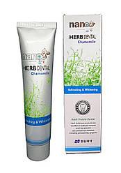 Зубна паста HANIL NANO Herb Dental Chamomile