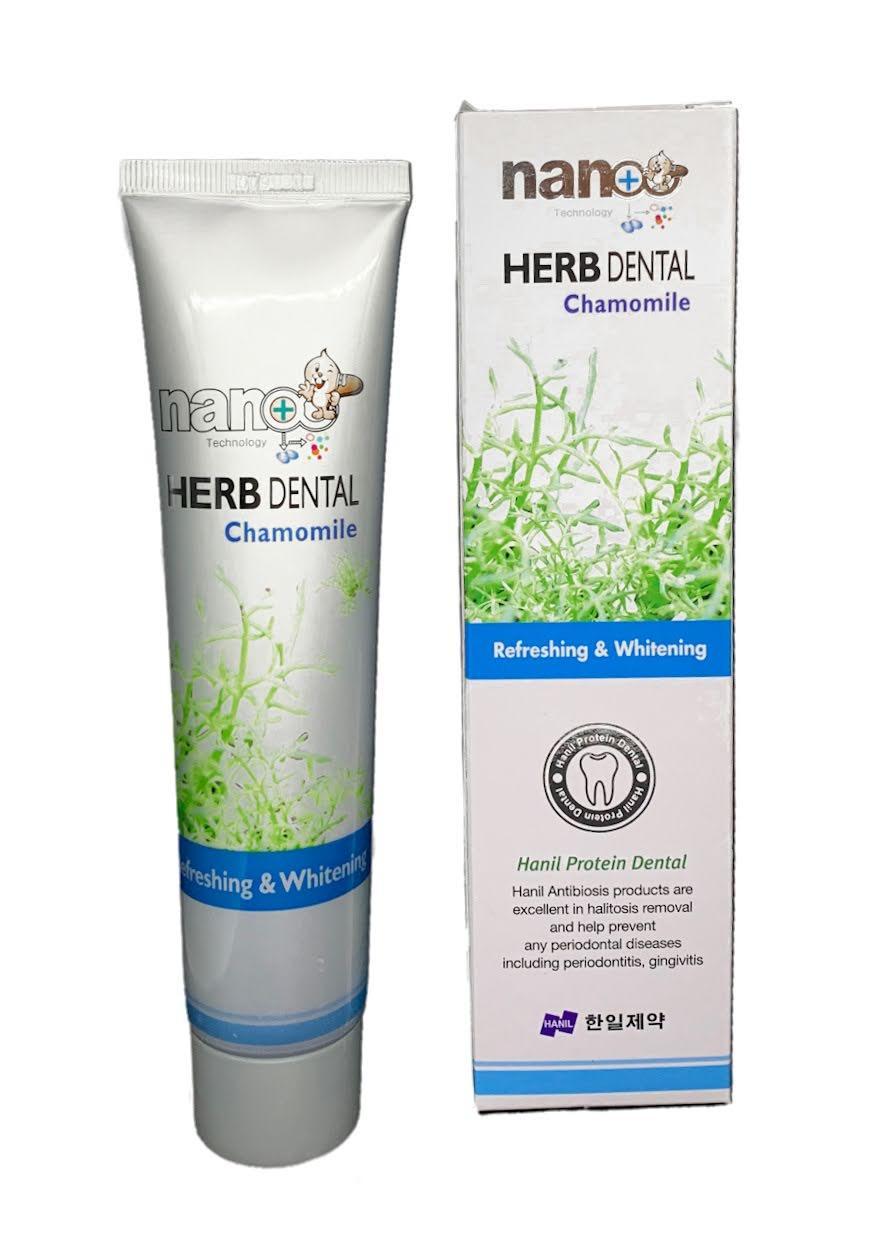 Зубная паста HANIL NANO Herb Dental Chamomile
