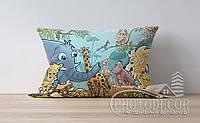 """Детская подушка с фото """"Зоопарк"""""""