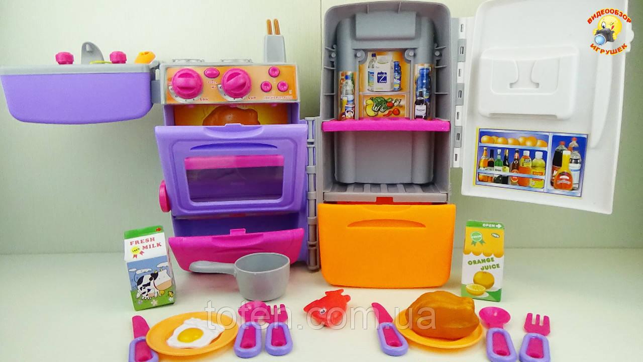 Кухня-чемодан 9911. Игровой набор для девочек