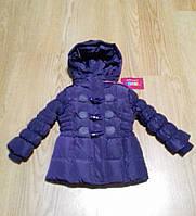 Курточка зимняя для девочки Mine 86 см Сиреневый Ю10, КОД: 1746655
