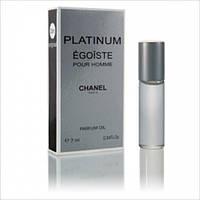 Масленый мини парфюм Chanel Egoiste Platinum (Шанель Эгоист Платинум) 7 мл.
