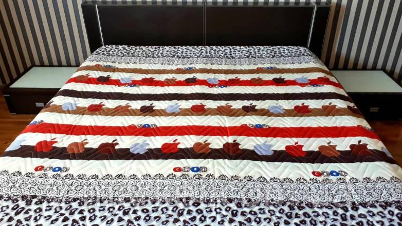Летнее одеяло покрывало полуторное окантованное, 145/210