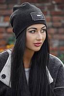 Женская стильная теплая шапка с пайетками (расцветки), фото 1