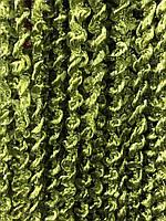 Шторы нити Спиральки №19, оливковые 3х3 м