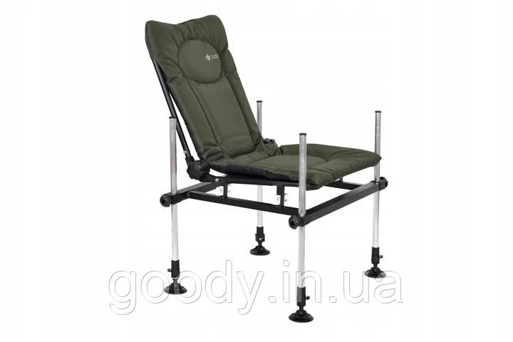 Крісло фідерне карпове М-Elektrostatyk F3 CUZO (навантаження 120 кг. алюміній)